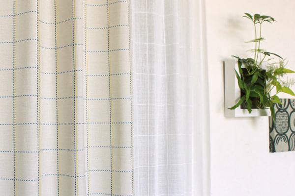カーテンを掃除してお部屋も明るく清潔に