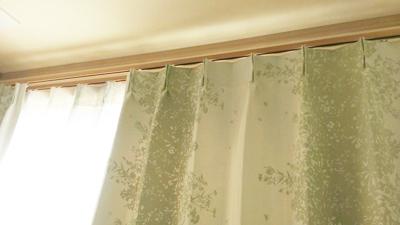 遮光1級のドレープカーテン