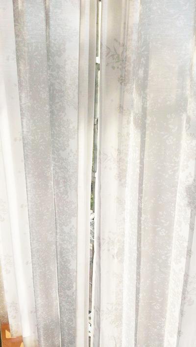 UVボイルレース:ドレープカーテンと同じ柄です!
