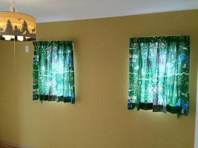 グリーンのカーテン