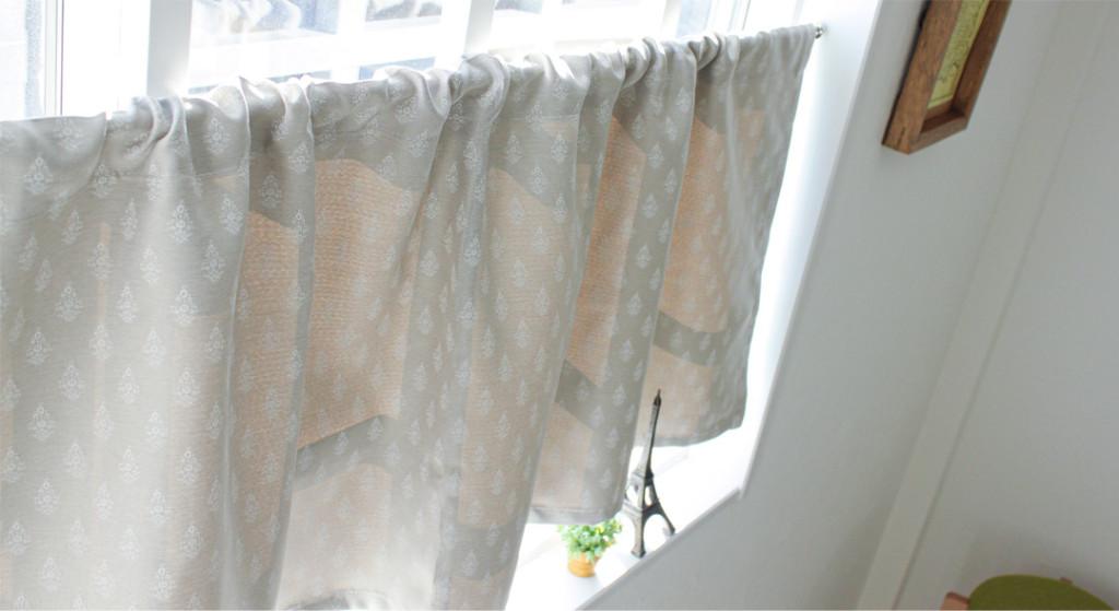 サコ カフェカーテン