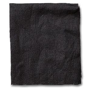 リトアニアリネンカーテン ナトゥーラ|ブラック