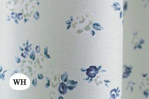 遮光2級厚地カーテン「ささやかなお茶会 バロン(ホワイト)」写真
