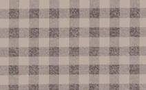 チェック柄のドレープカーテン