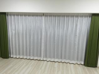 大阪府W様より30色カーテン「JOY」のお写真2