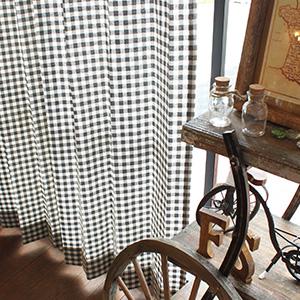カーテンズおすすめのドレープカーテン|ギンガムチェック